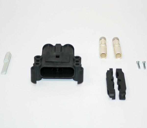 REMA kan Euro Din 160A koppeling 50 mm² (coderingsspeld grijs, hoofdcontact, stamverlichting)