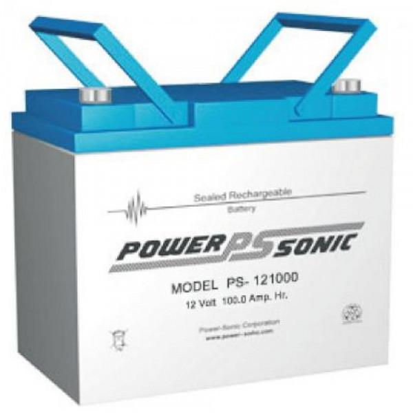 Powersonic 12V 100 Ah lood non spillable accu AGM VRLA PS 121000
