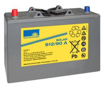 Exide Sonnenschein Solar S12/90 A Lead Gel Battery 12V 90 Ah