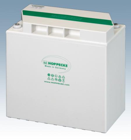 Hoppecke 1 OPzV 50 power.bloc 12V 51 Ah (10C) lood – gel batterij VRLA gesloten, onderhoudsvrij
