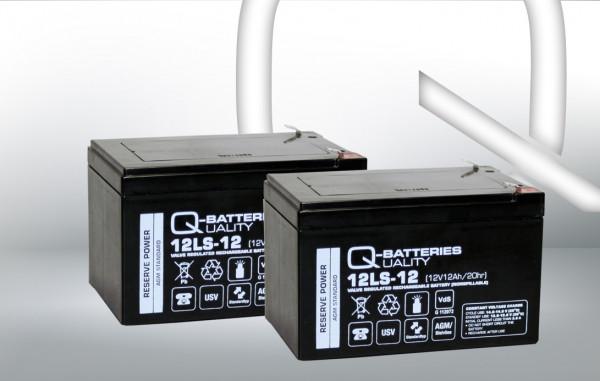 Vervangingsbatterij voor Belkin Regulator Pro Netto F6C1000EUR/merkbatterij met VdS