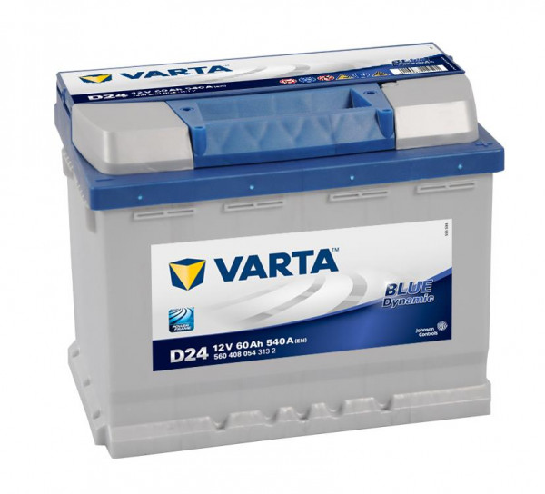 VARTA BLUE Dynamic 560 408 054 3132 D24 12Volt 60 Ah 540A/EN start accu