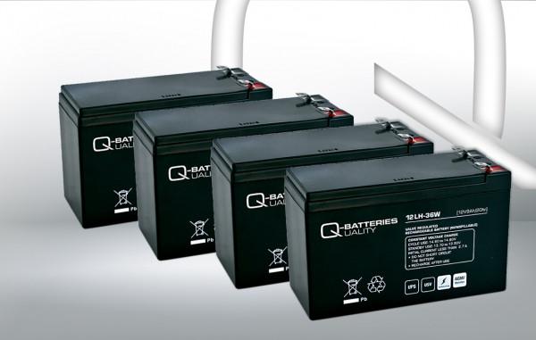 Vervangingsbatterij voor DELL DL1500RMI2U UPS-systeem