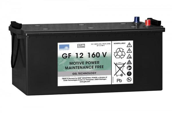 Exide Sonnenschein GF 12 160 V dryfit gel drive accu 12V 160 Ah (5h) VRLA