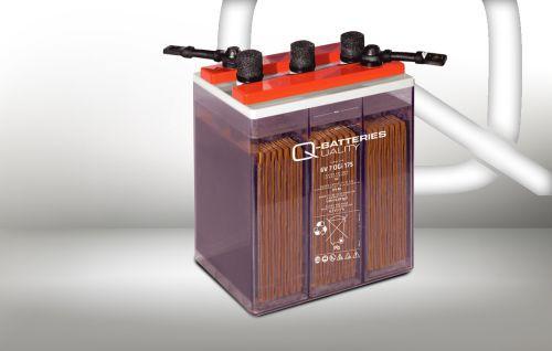 Q-Batteries 12V 2 OGi 50 66AHh (C10) stationaire OGi batterij met vloeibare elektrolyt