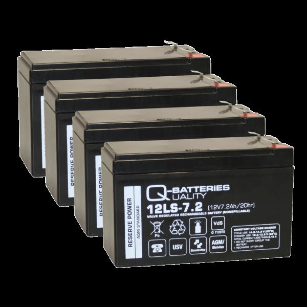 Vervangingsbatterij voor APC Smart-UPS 1500 RBC133/brandbatterij met VdS