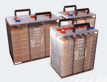 Exide Classic Energy Bloc EB 6350 loden accu 6V 340 Ah voor UPS