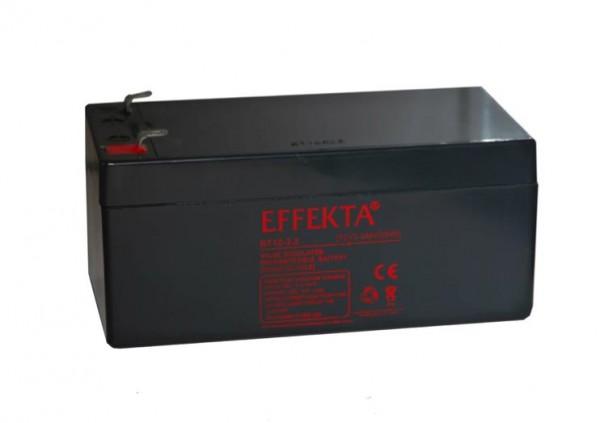 EFFEKTA BT 12-3.2 12V 3.2 Ah loodaccu/lood non spillable accu AGM VRLA
