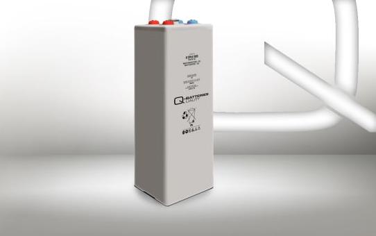 Q-Batteries 6 OPzV 300 6V 309 Ah (C10) gesloten stationaire gelbatterij VRLA