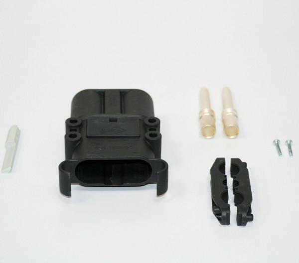 REMA kan Euro Din 320A koppeling 70 mm² (coderingsspeld grijs, hoofdcontact, stamverlichting)