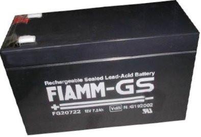 FIAMM FG20722 12V 7,2 Ah loodaccu/loodaccu/AGM lood non spillable VdS
