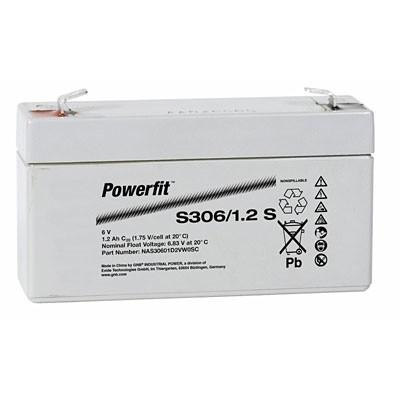 Exide Powerfit S306/1,2 S 6V 1,2 Ah dryfit lood accu AGM