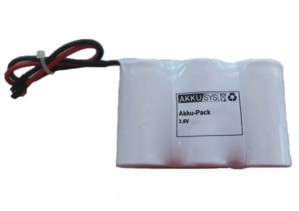 Batterijpakket 3.6V 3000mAh serie NiMH F3x1 3xSub-C Hoge temperatuur cellen/kabel