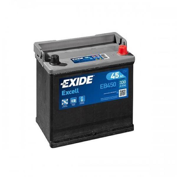 Exide EB450 Excell 12V 45Ah CCA330 EN auto accu