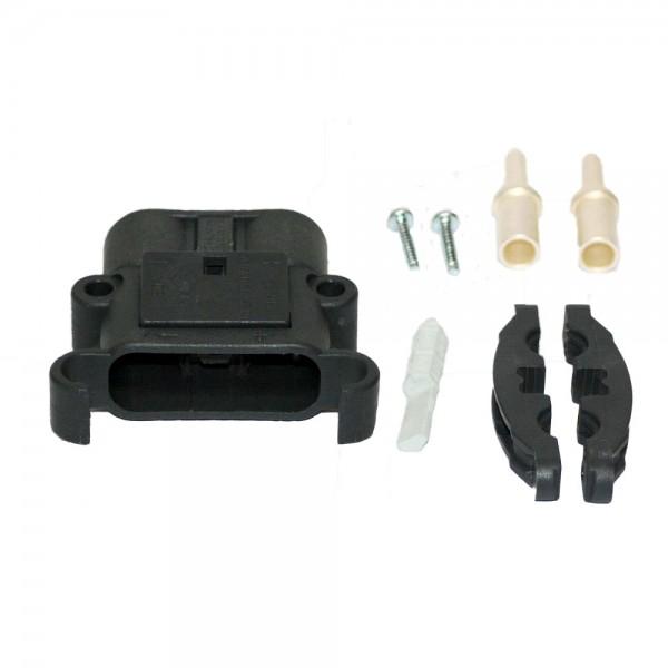 REMA connector Euro Din 80A 35 mm² (coderingspin grijs, hoofdcontact, belastingverlichting)