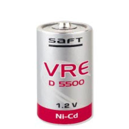 saft VRE DL 5500 CFG NiCd D-5000mAh
