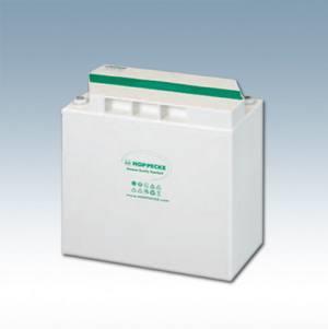 Hoppecke 2 OPzV blok zonnekracht/zonnekracht 120 12V 130 Ah (C10) Lead – Gel batterij, gesloten
