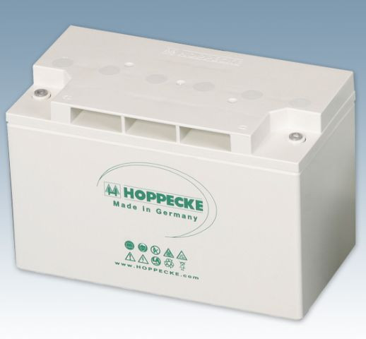 Hoppecke power.com HC 122400 12V 78 Ah (C10) gesloten loodaccu VRLA voor UPS