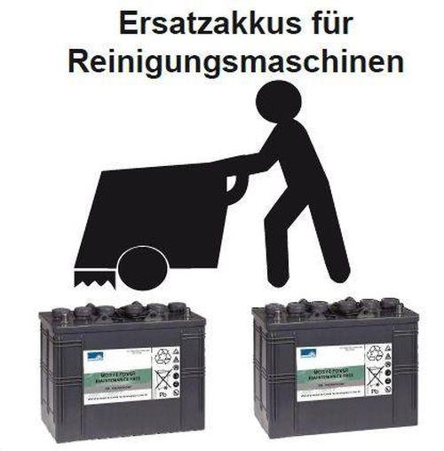 vervangingsbatterij voor BR 1050 – Onderdelen nr. 80565000 Reinigingsmachine Batterij – Batterij