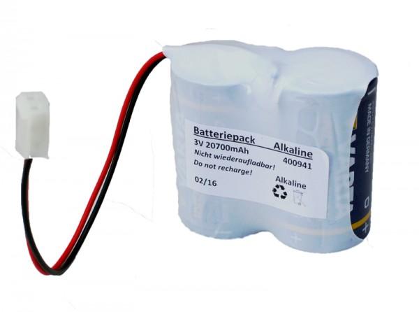 Batterij pack 2WAY radio buiten sirene FU2986 3V