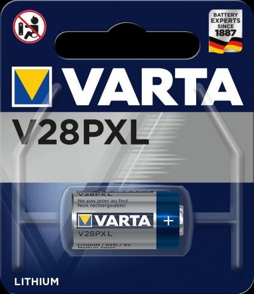 VARTA Electronics V28PXL Professional Electronics Lithium Photo batterij 6V (1 blister)