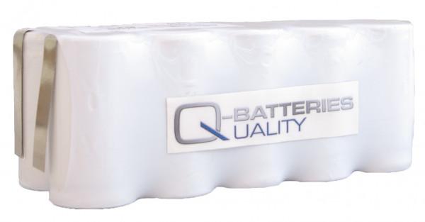 Batterij pack 12V 1800mAh serie NiCd F5x2 10xSub-C Hoge temperatuur cellen/solder vlag