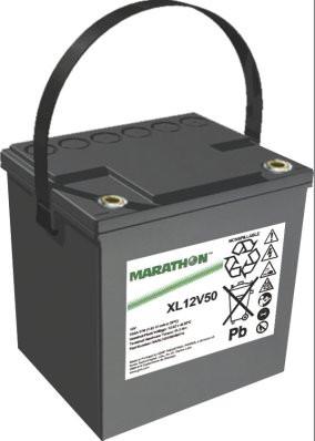 Exide Marathon XL12V50 12V 50,4 Ah AGM loodaccu VRLA