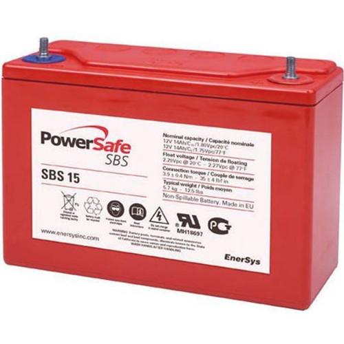 Hawker Enersys PowerSafe SBS 15 12V – 14 Ah (10h)