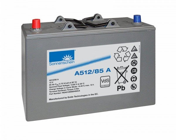 sonnenschein A512/85 A VdS 12V 85 Ah dryfit loodgel accu VRLA
