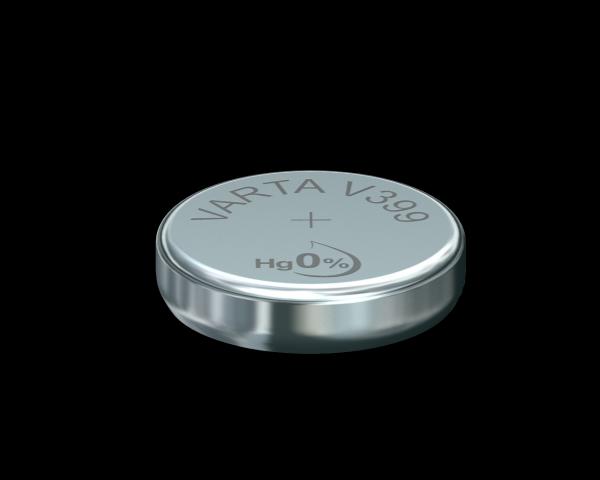 VARTA Watch V399 SR57 1,55 V Watch batterij 42mAh High Drain (1 Blister)