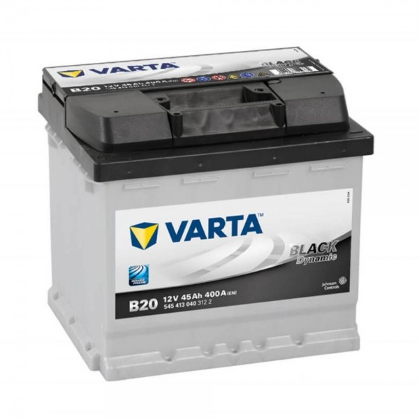 VARTA BLACK Dynamic 545 413 040 3122 B20 12Volt 45 Ah 400A/EN start accu