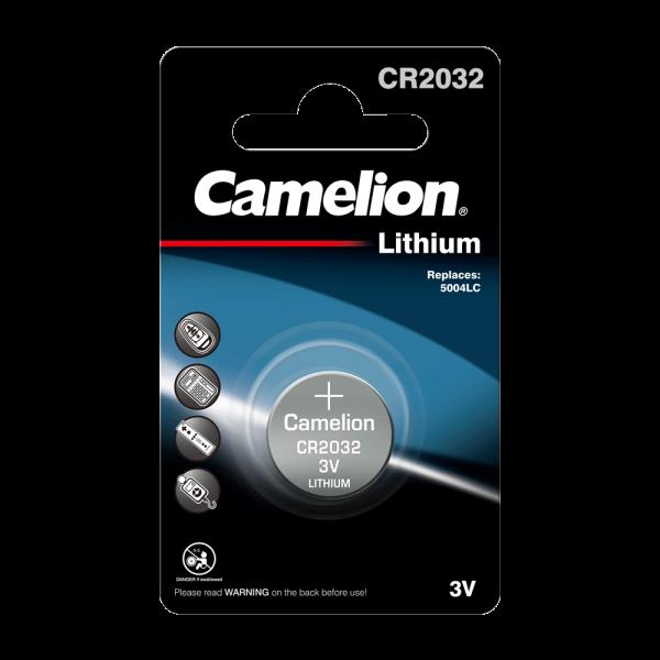 Camelion CR2032 lithiumknopcel (1 blisterverpakking) Gevaarlijke goederen volgens UN3090 lithium bat
