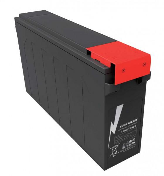 Q-Batteries door Narada 12LNDT190S/12V 190 Ah frontterminal loodaccu/lood non spillable accu VRLA 12