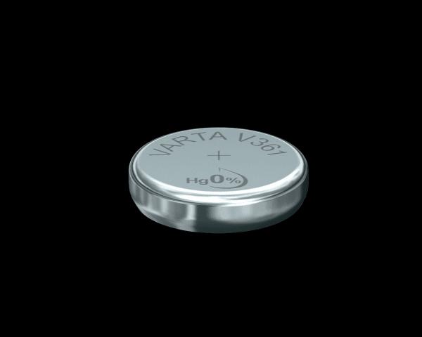 VARTA Watch V361 SR58 1.55 V Watch batterij High Drain 20mAh (1 Blister)