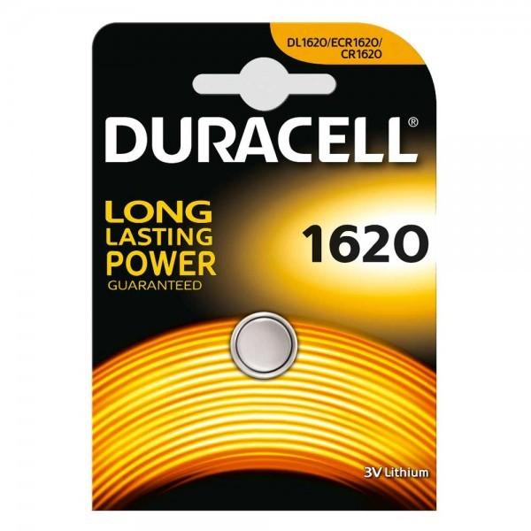 Duracell Lithium CR1620 knoopcel (1 blisterverpakking) UN3090